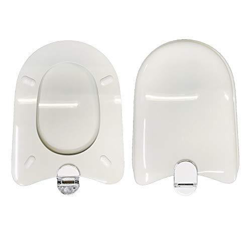 Copriwater DIAGONAL IDEAL STANDARD compatibile laccato bianco lucido poliestere