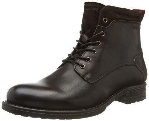 Marc O'Polo Herren 90825006302100 Biker Boots, Braun (Dark Brown 790), 46 EU