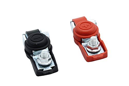 TAKPART 2x Universal Batterieklemmen Polklemmen Autobatterie Klemmen
