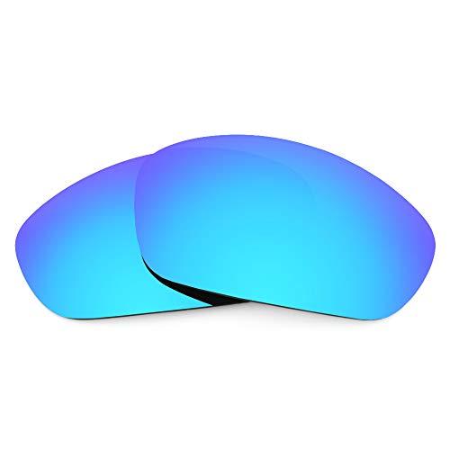 Revant Revant Ersatzgläser für Oakley Straight Jacket (2007) - Kompatibel mit für Oakley Straight Jacket (2007), Nichtpolarisiert, Eisblau MirrorShield