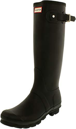 Hunter Original Tall, Women's Rain Boots, Black, 7 UK