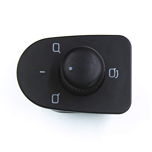 Control de espejo Ajustar el interruptor de control del espejo del mando compatible con el SEAT LEON TOLEDO 1999 2009 2001 2002 2003 2004 2005 2006 1M1959565D 1M1 959 565D Interruptor de control de es