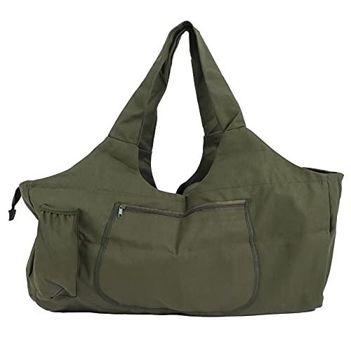 CUTULAMO Bolso del Equipaje, Lona portátil Multifuncional del Bolso Verde Militar de la Yoga para el Almacenamiento