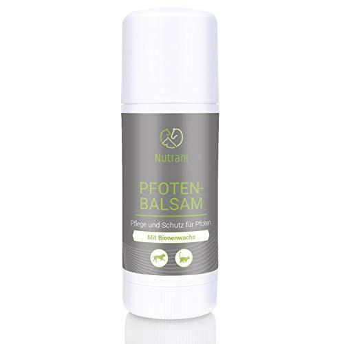 Nutrani Pfotenbalsam für Hunde und Katzen | Stick (40ml) – 100% natürlicher Balsam – geeignet für die Pfotenpflege und den Pfotenschutz