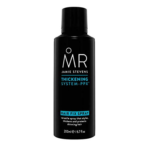 MR Style Fix Spray 200ml Professionally Formulated Medium Hold Natural Look Locks in Style While Nourishing and Thickening Hair