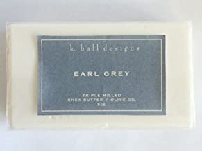 Earl Grey Milled Shea Soap by K. Hall Designs