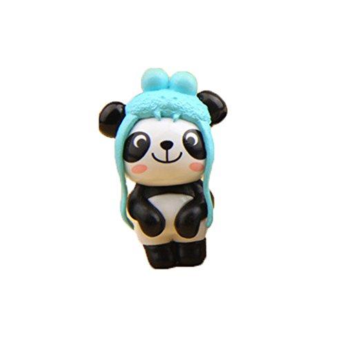 Inconnu WFZ17 So Kawaii Mini Décoration de Jardin Motif Panda Motif aléatoire.