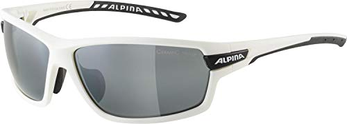 ALPINA TRI-SCRAY 2.0 Sportbrille, Unisex – Erwachsene, white matt-black, one size
