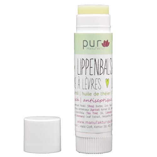 Manufaktur Pur Bio-Lippenbalsam Lippenpflege Teebaum