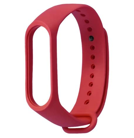 Logo TianKunEU Männer Frauen Fashion Color Sports Armband Strap Smart Watch Ersatzarmband Modisch (Color : Red)
