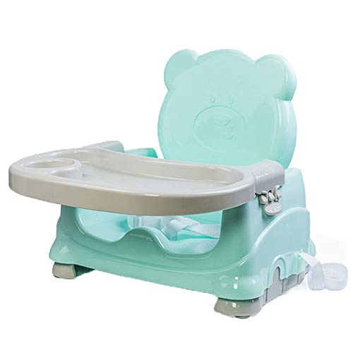 Learn More About Space Saver Highchairs Adjustable Baby Booster Seat High Chair Height Foldable Port...