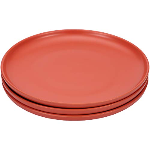 BonNoces 10-inch Porcelain Dinner Plates, Set of 3