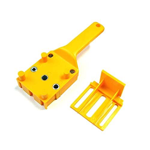 Herramientas Manuales para Carpintería Localizador Rápido De Carpintero Plantilla para Clavijas Perforadora De Mano De 6/8/10 Mm Broca Perforadora para Juntas De Espiga De Carpintería (Color: