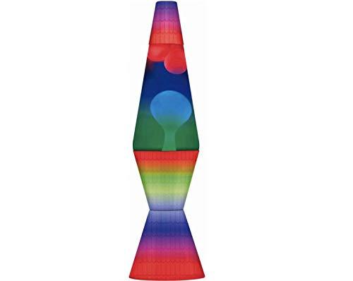 Moderne Lite Lavalampe in Regenbogenfarben – Mehrfarbig – Sorgt für ein wahrhaft entspannendes Erlebnis