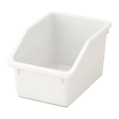 IKEA SOCKERBIT Box in weiß; (19x26x15cm)