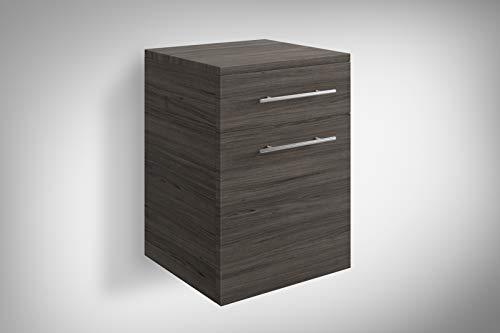 SAM Möbel Outlet Unterschrank Veritas | Holzoptik matt Trüffeleiche | 53 x 40 x 35 cm | Badmöbel | Kombinierbar