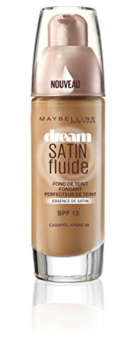 Maybelline New York - Fond de Teint soin hydratant - Dream Radiant liquid - Caramel Ambré (68) - 30 ml