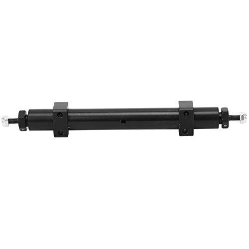 Eje trasero, 140 mm 120 mm Aleación de aluminio Eje trasero Accesorio de actualización del eje de cola Ajuste para 1/14 tamiya RC Remolque de coche Modelo de actualización del eje de cola(140mm)