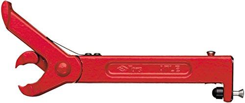 Hultafors Nagelzieher Atle, 820030, robuster Nagelheber aus rot lackiertem Stahl