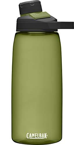 CamelBak Garrafa de água Chute Mag livre de BPA com renovação Tritan, 946 ml, Olive