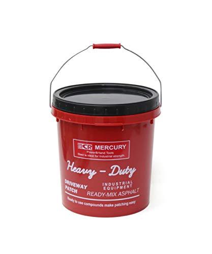 マーキュリー(Mercury) 収納ボックス レッド 34.5×31.5×31.5cm PPインダストリアルバケツ ME046161