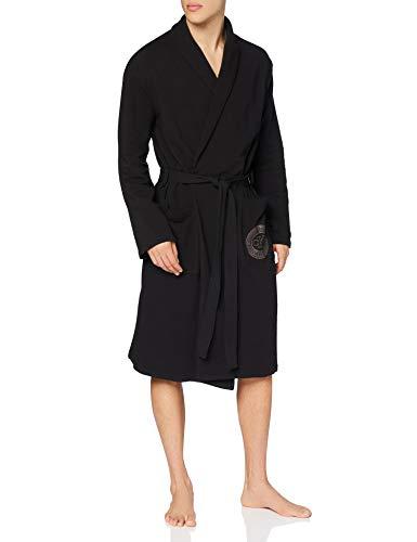 Calvin Klein Herren Robe Pyjamaset, Schwarz, S-M