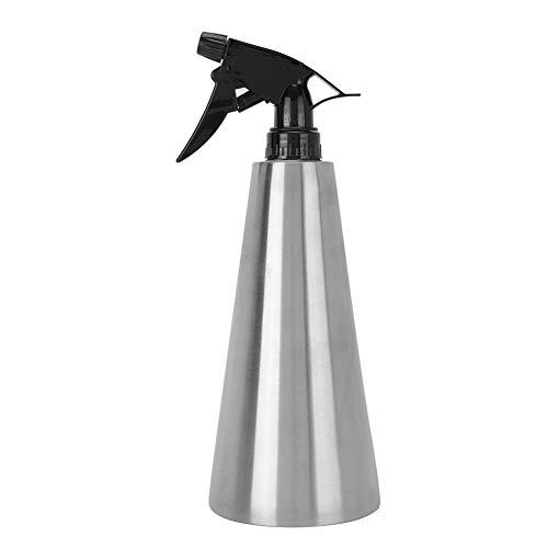 Pulverizador de jardín de 1-2 l con una mano, tipo de presión, botella de riego, bomba de jardinería, herramienta de pulverización de césped con boquilla de cobre de cono ajustable para limpieza de pl