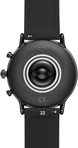 FOSSIL(フォッシル)『THECARLYLEHRブラックシリコンジェネレーション5スマートウォッチ(FTW4025)』