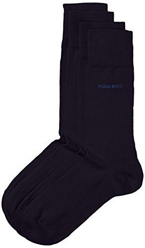 BOSS Herren Socken Twopack RS Uni 10112280 01 2er Pack, Blau (Dark Blue 401) 43/46