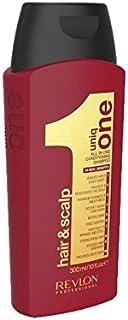 Uniq One Hair And Scalp Conditioning Shampoo (300ml) (Pack of 6) - の1回の髪と頭皮コンディショニングシャンプー(300ミリリットル) x6 [並行輸入品]
