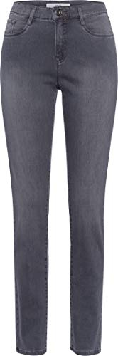 Brax Damen Style Mary Simply Brilliant Denim Slim Fit Jeans, USED GREY, 31W / 32L (Herstellergröße: 40)