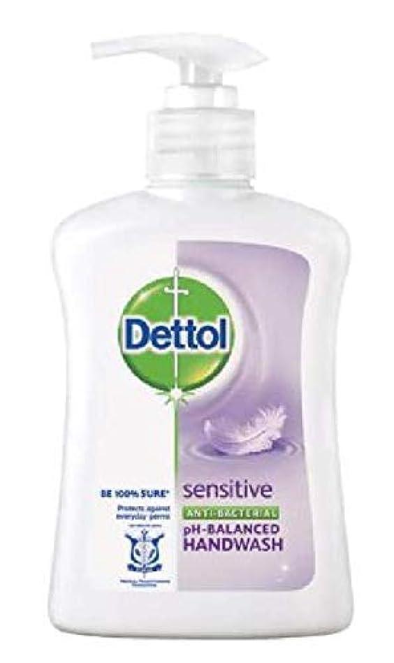 離れてのれん本体Dettol 抗菌性のphバランスの手洗いに敏感な250mlは、細菌から手を保護して、穏やかにきれいにします、24時間99.9%の抗菌保護を提供