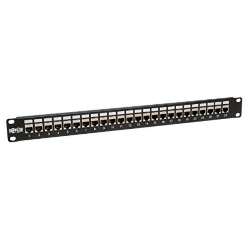 Tripp Lite 24-Port Cat6 / Cat5 Patch Panel STP Shielded RJ45 Ethernet...