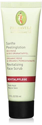 PRIMAVERA Revitalpflege Sanfte Peelinglotion Rose Granatapfel 50 ml - Naturkosmetik - fördert die Regeneration anspruchsvoller, reifer Haut - vegan