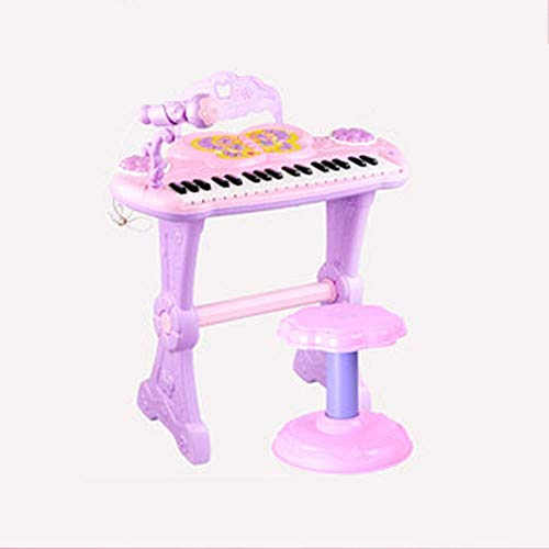 Great Features Of Electronic Piano Toy, Multi-function 37-key Keyboard With Microphone Magic Sound C...