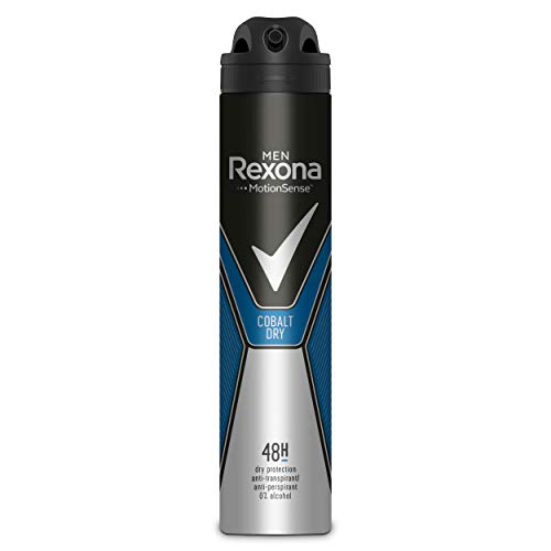 Rexona - Desodorante Antitranspirante Cobalt Dry, 200 ml