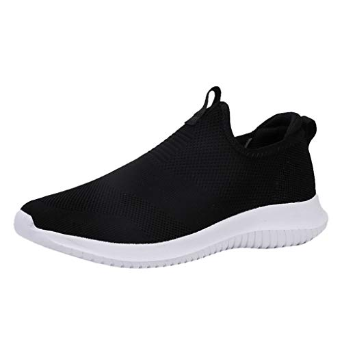 Great Features Of Couple Woven Breathable Casual Sneakers Ultra Light Hollow Soft Bottom Mesh Shoes ...