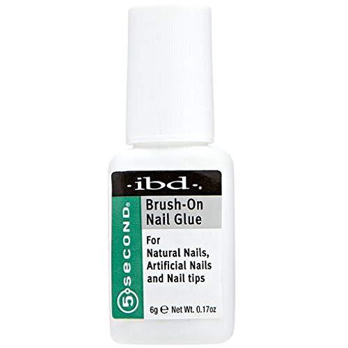 Ibd 5 Second Brush On Nail Glue 54006 / Treatments by IBD
