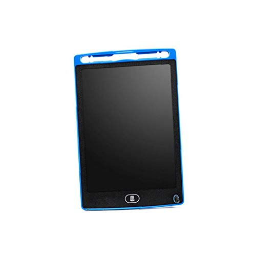 lujiaoshout Tableta de Escritorio 8.5 En borrable Junta de Dibujo del Doodle electrónico Bloc de Notas de Escritura a Mano Hoja de Gráficos de Blue Board