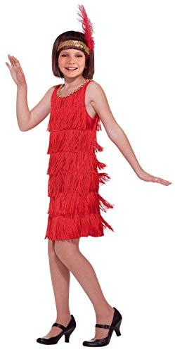 Forum Novelties 20's Flapper Child Costume, Large
