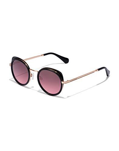 HAWKERS Milady Gafas de sol, Negro/Vino, One Size para Mujer