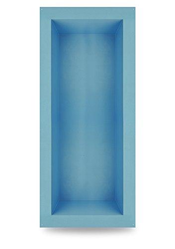 B&M Polypool GFK Springbrunnenbecken 6080 7280 Liter von M+W Gartenflair (Blau)