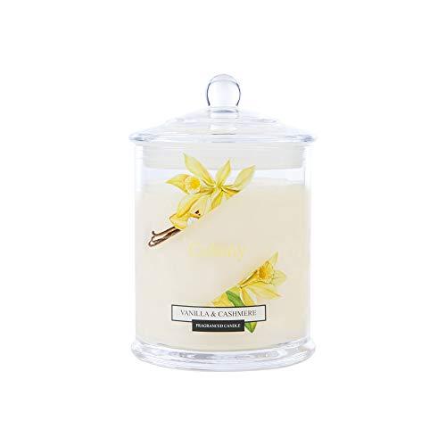 Wax Lyrical Jar Candle Medium Vanilla & Cashmere,