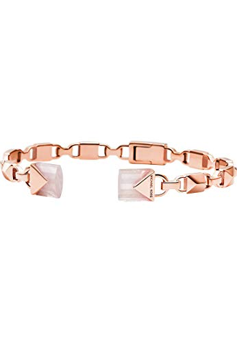Michael Kors Damen-Armreif 925er Silber One Size Rosé/rosa 32002717