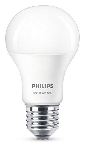 Philips 8718696598375 A+, LED SSW 60W A60 E27 WW-CW FR ND 1SRT4, Plastik, 9.5 W, matt, 6.1 x 6.1 x 11.1 cm