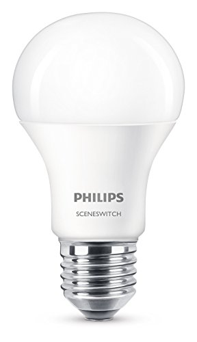 Philips SceneSwitch, 2-in-1 LED-lamp, EEK A+, dimmen zonder dimmer