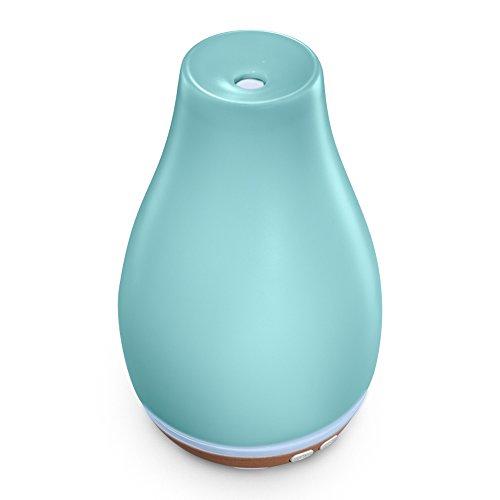 Ellia Blossom Essential Oil Aromatherapy Diffuser, Blue