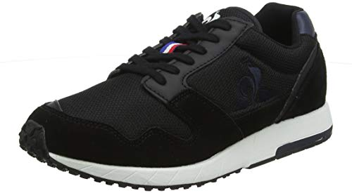 Le Coq Sportif JAZY Sport, Zapatillas Hombre, Noir Black Ebony Black Ebony, 45 EU