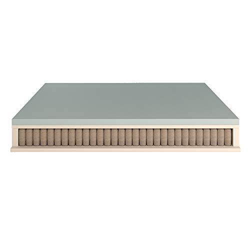 Baldiflex Emporio Materasso Singolo Molle Insacchettate 700 Molle con 5 CM Memory, Aloe Vera, 80x190cm Altezza 27 cm