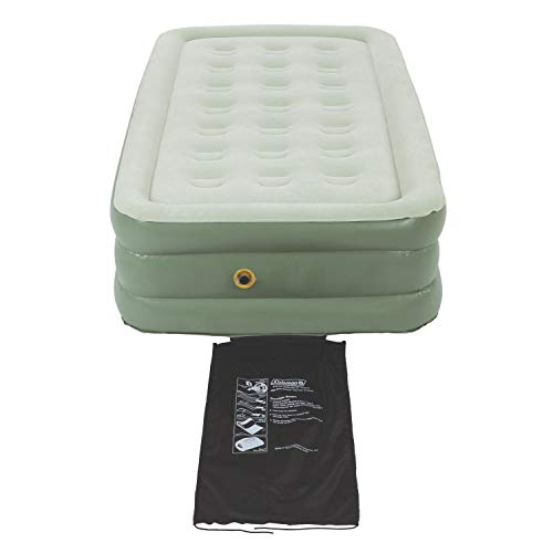 Coleman Air Mattress | SupportRest Double High Air Bed, Twin